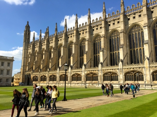 2016 Cambridge King's College Chapel